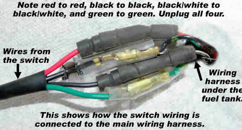4 Wire Ignition Switch Diagram