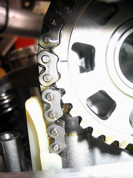 how to set cam timing on honda g65 motor